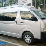 Thuê xe 16 chỗ từ Huế đi Attapeu Lào, Toyota Hiace