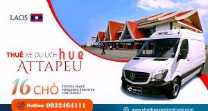 Thuê xe 16 chỗ từ Huế đi A Ta Pư, Attapeu Laos