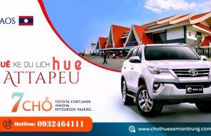 Thuê xe 7 chỗ từ Huế đi A Ta Pư, Attapeu Laos