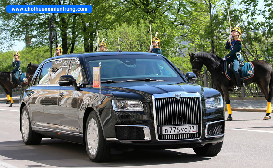 Xe của các nguyên thủ quốc gia, Aurus Senat Nga