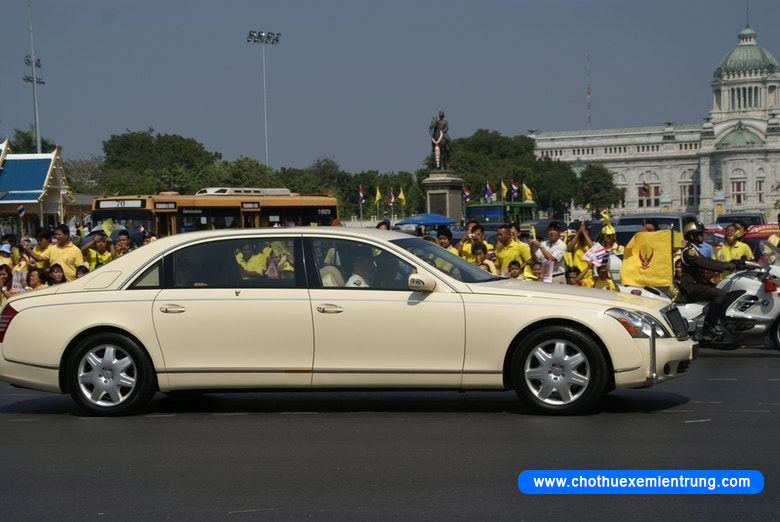 Xe của các nguyên thủ quốc gia, Maybach 62 Limousine Thái Lan