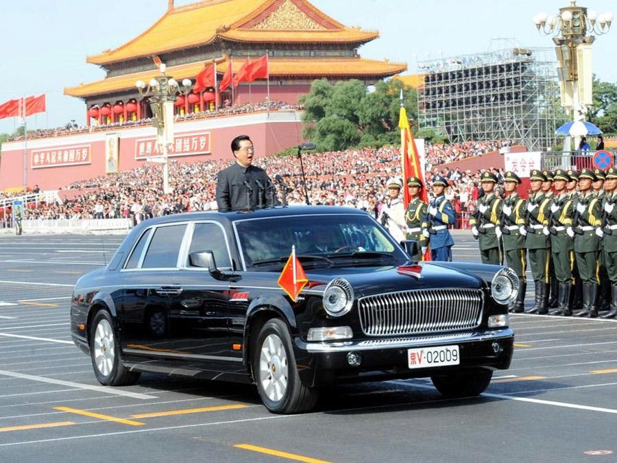 Xe của các nguyên thủ quốc gia, Hongqi Limousine
