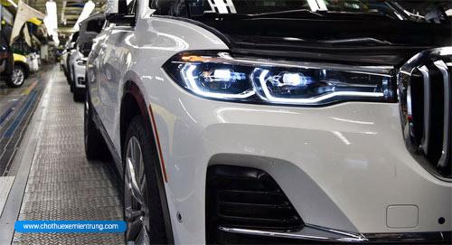 BMW X7 lần đầu lộ diện, bán ra từ cuối 2018