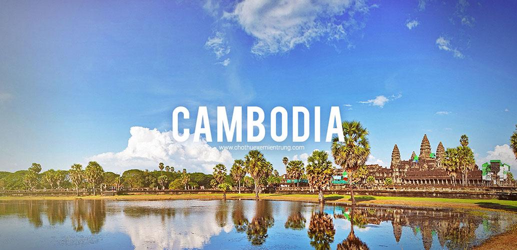 Cách mang xe máy qua cửa khẩu Campuchia