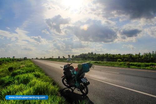 Cách mang xe máy qua cửa khẩu Campuchia - Lào - Thái Lan