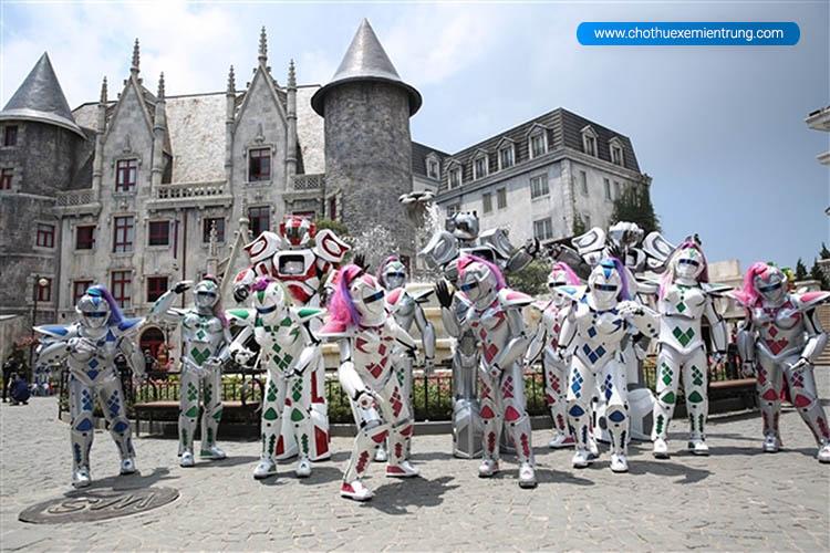 hình ảnh lễ hội Bà Nà Hill