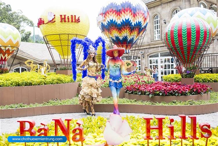 Trải nghiệm lễ hội văn hóa thế giới tại Bà Nà Hills