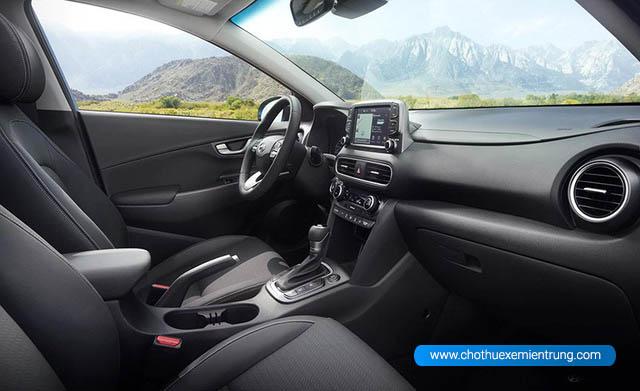 Nội thất Hyundai miniSUV Kona