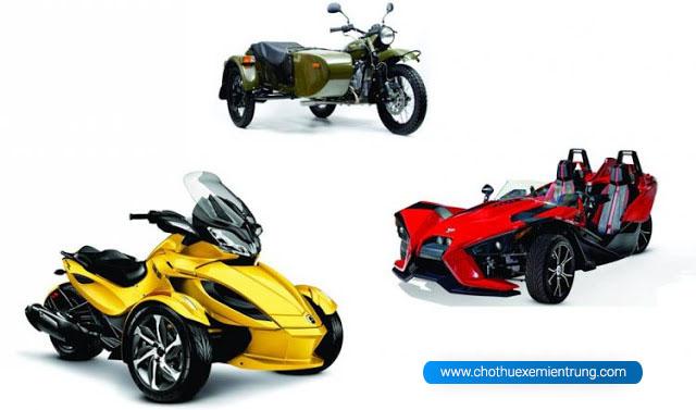 Các loại xe môtô, Trikebike