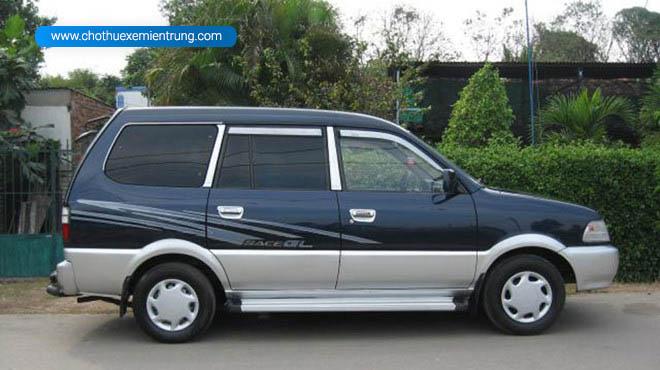 mẫu xe cũ 2000 Toyota Zace