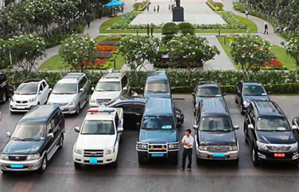 Thuê xe công ở thành phố Hồ Chí Minh