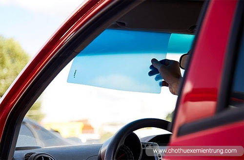 Các cách chống nắng cho xe ô tô