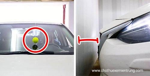 cách sử dụng xe ô tô, đậu xe trong garage