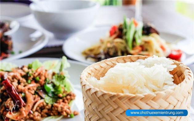 Món xôi Lào