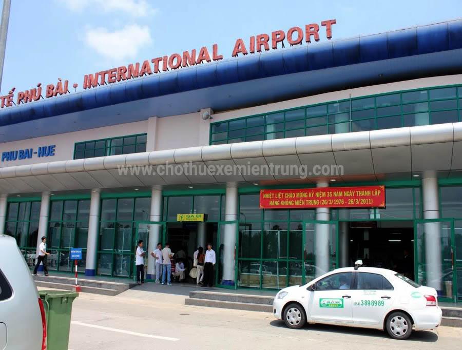 từ sân bay Phú Bài đi A Lưới