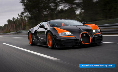 'Siêu xe' Bugatti Veyron trong hình hài xe bình dân