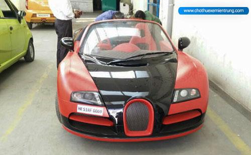 Tata Nano độ Siêu xe bugatti veyron