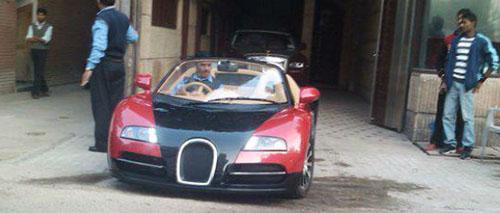 xe độ bugatti veyron