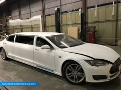 Tesla độ xe Limousine