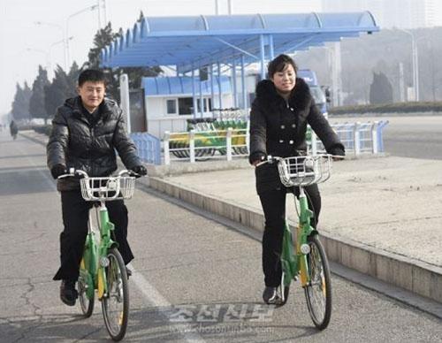 Dịch vụ cho thuê xe đạp công cộng ở Bình Nhưỡng