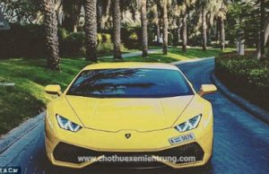 Thuê xe Lamborghini ở Dubai