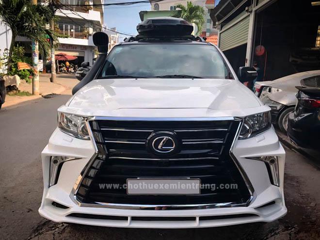 Toyota Fortuner độ phong cách Lexus