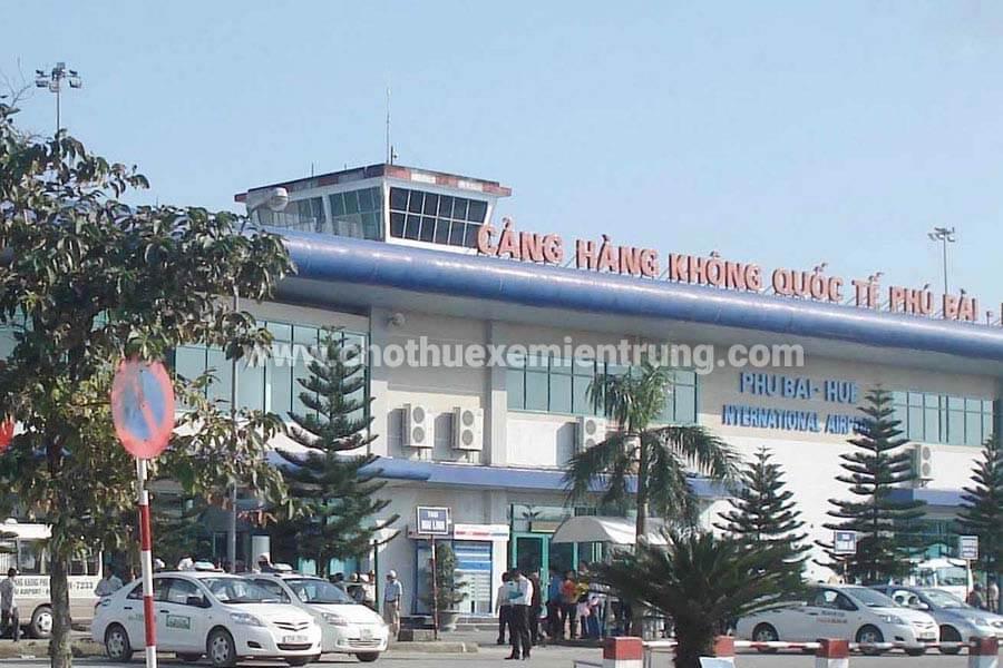 từ sân bay Phú bài đi quảng trị như thế nào