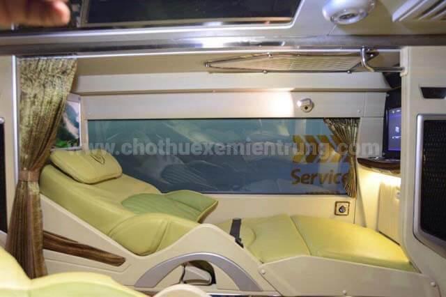 Xe Limousine giường nằm Sài Gòn đi bạc liêu