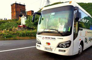 xe khách đưa đón sân bay Phú Bài đi Quảng Trị