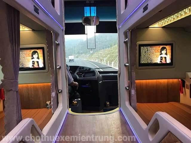 Xe Limousine giường nằm Sài Gòn đi Vũng Tàu