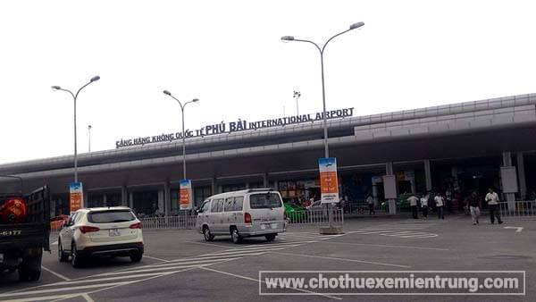 Từ sân bay Huế đi La Vang