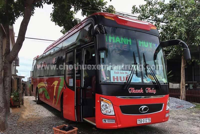 Xe khách từ Huế đi La Vang