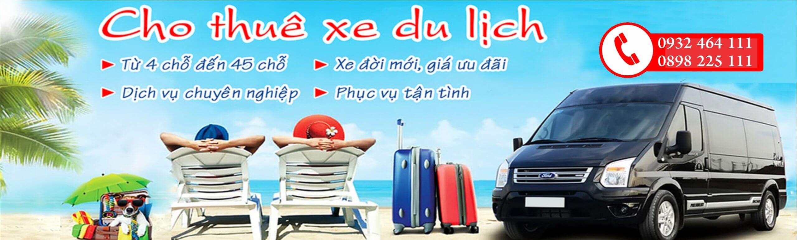 Bảng giá thuê xe du lịch Đà Nẵng từ 4 chỗ đến 45 chỗ mới nhất