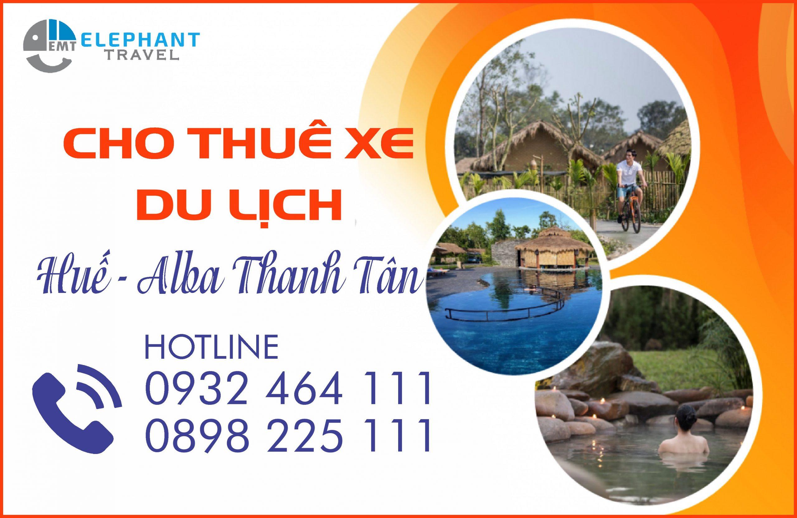 Thuê xe Huế đi suối nước nóng Thanh Tân