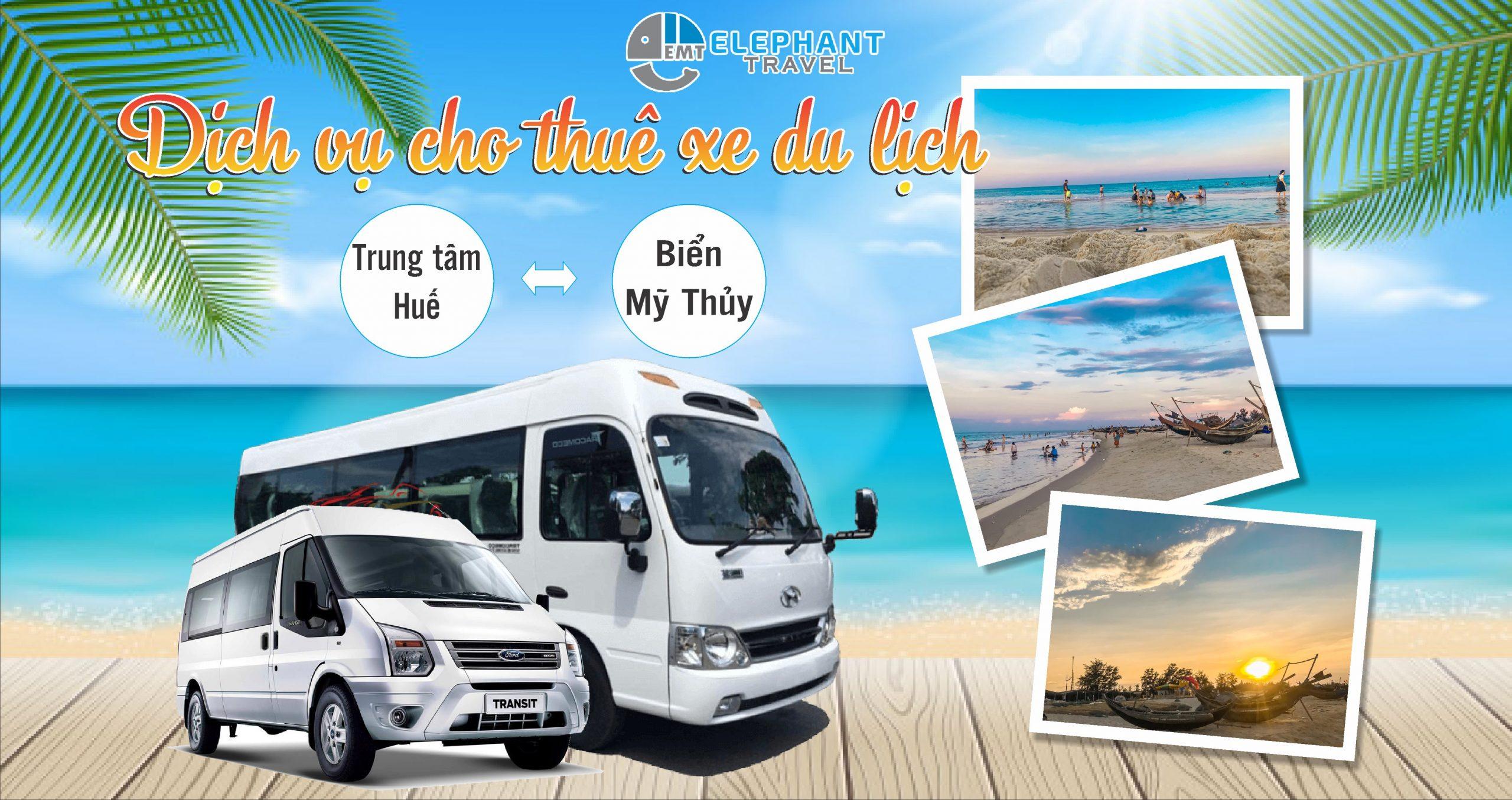 Bảng giá dịch vụ cho thuê xe Huế đi biển Mỹ Thủy – Quảng Trị