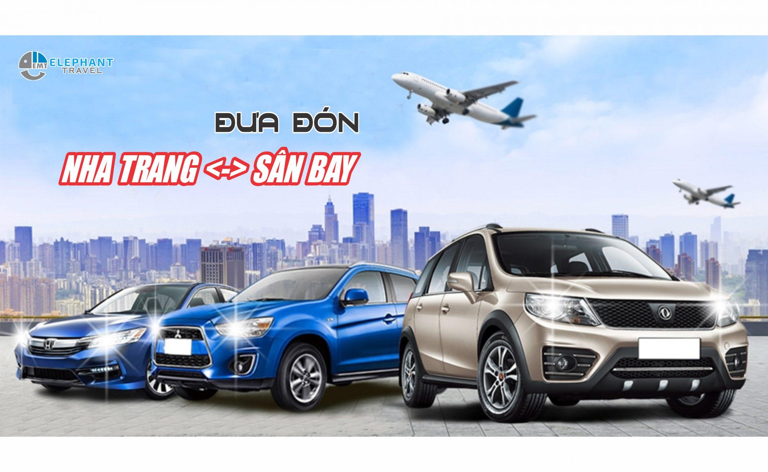 Thuê xe đưa đón sân bay Cam Ranh – Nha Trang