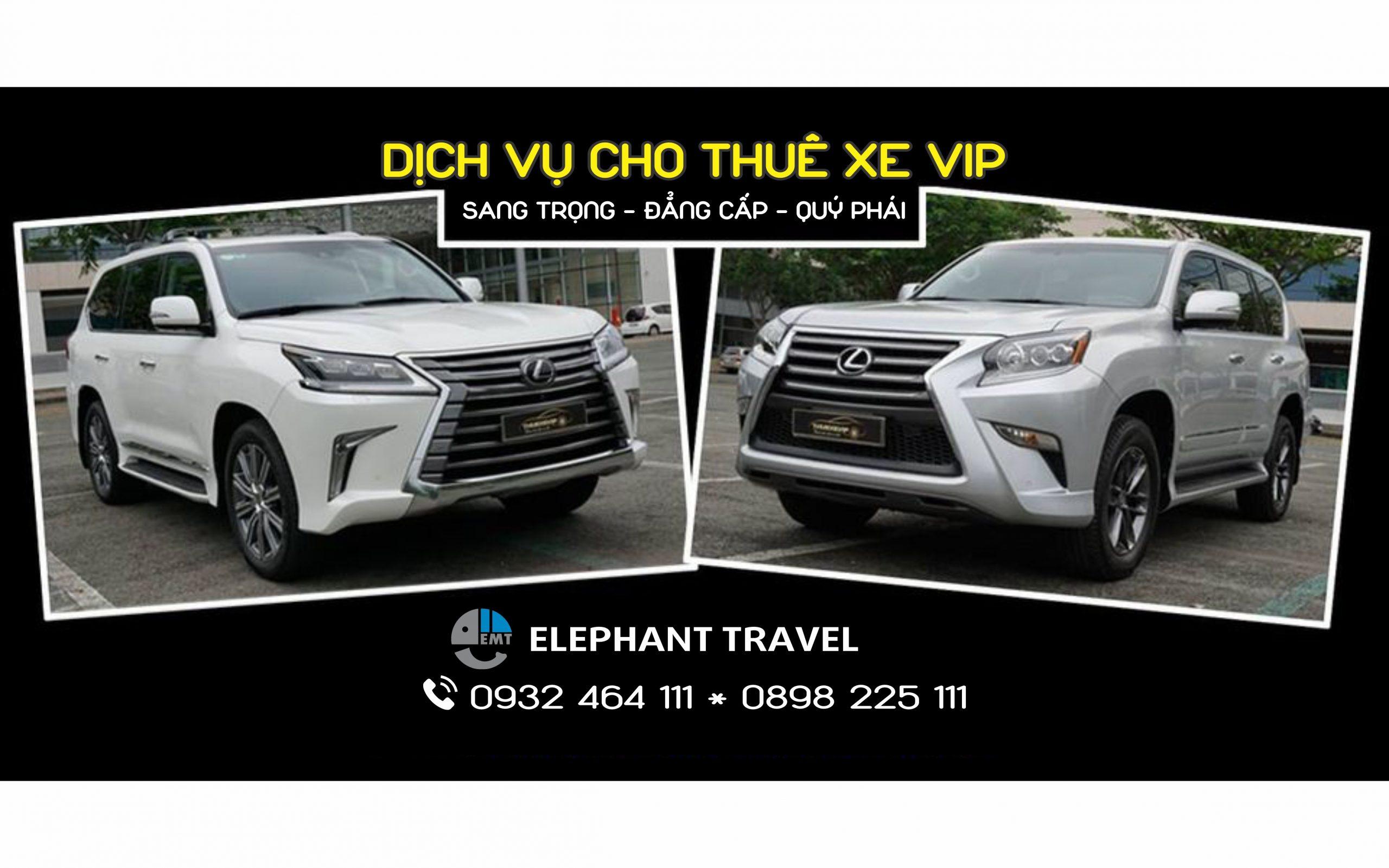 Dịch vụ thuê xe VIP đón tiễn sân bay Huế – Sang trọng – Đẳng cấp – Quý phái