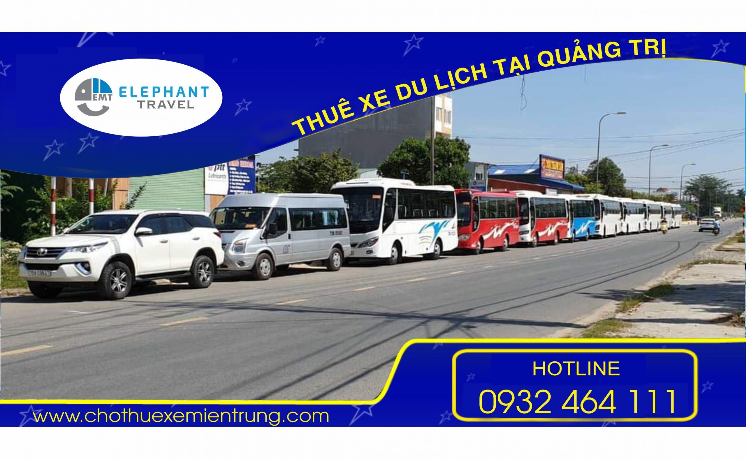 Bảng giá thuê xe du lịch Quảng Trị